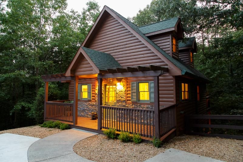 Kickin' Back Cabin is as adorable inside as it is on the