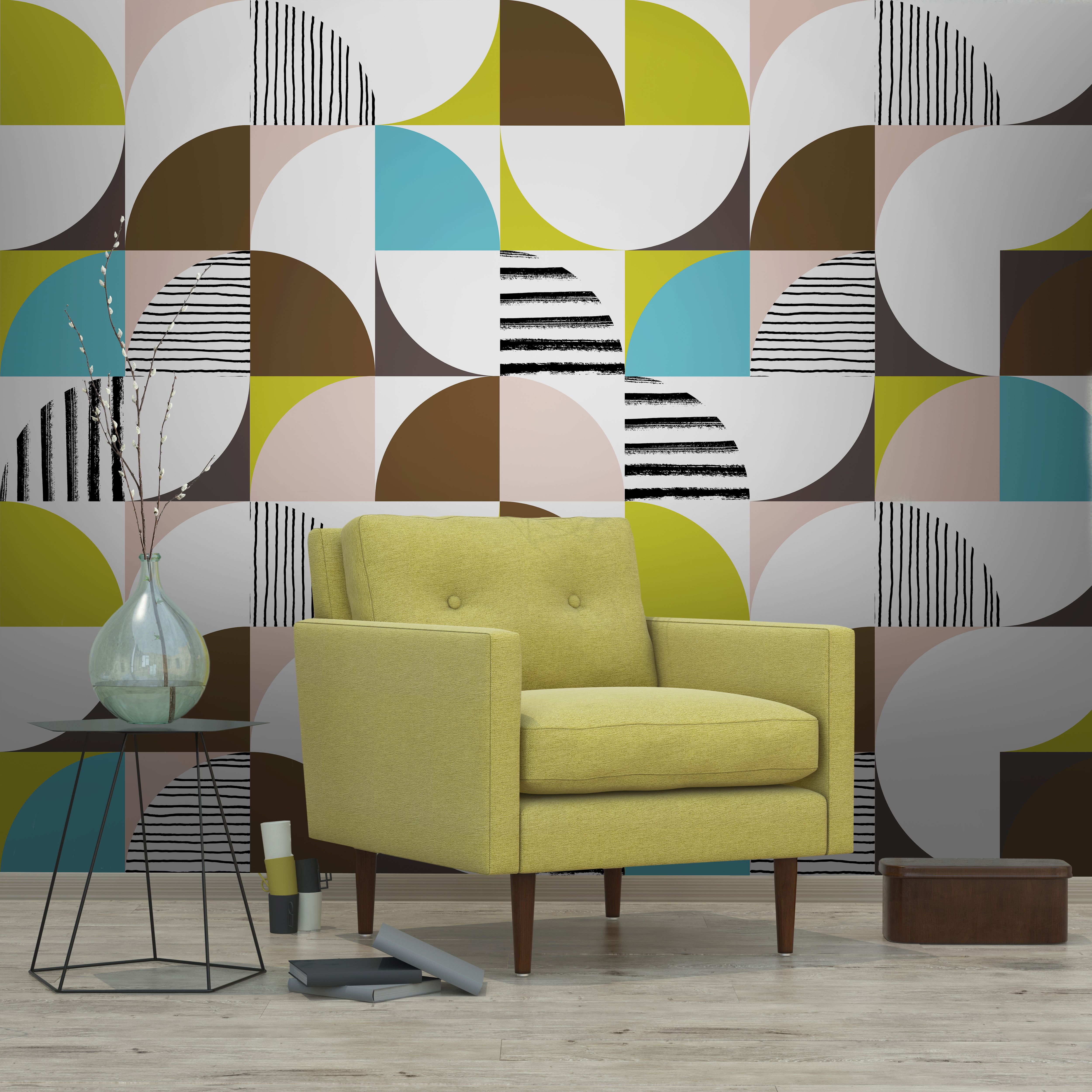 Mid-Century Modern - Mid Century Tiles - Newmor Wallcoverings | New ...