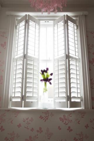 Beautiful Interior Shutters That Bi Fold   Jill