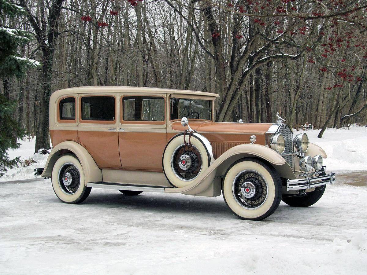 1931 Packard Eight 826 Sedan Packard Motor Car Company Detroit