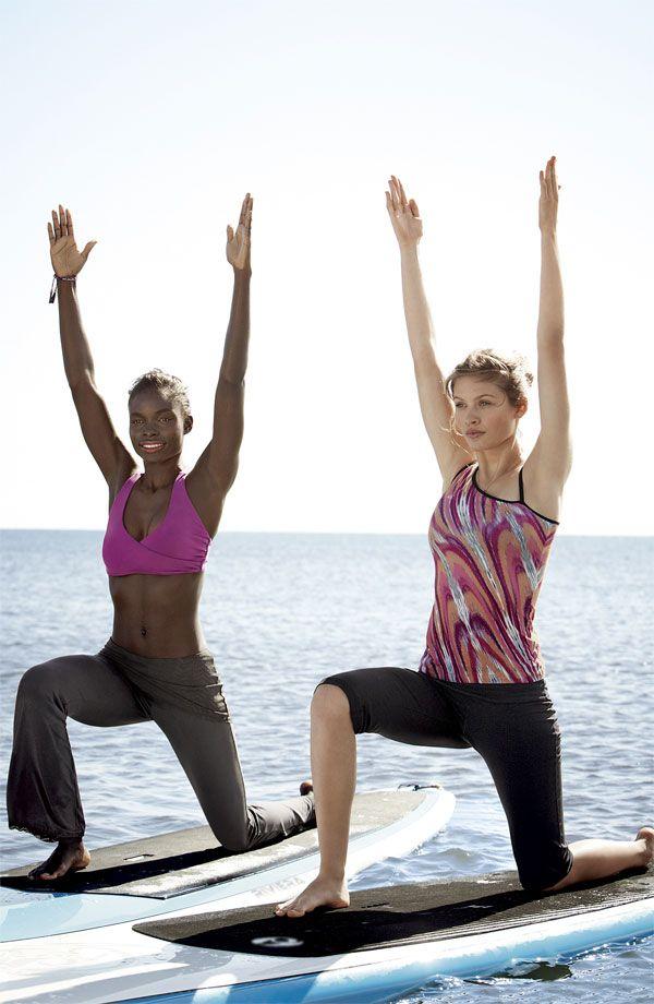 Floating Yoga #Nordstrom #GetMoving