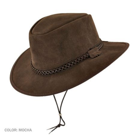 1a9326d2c7d Zephyr Crushable Leather Western Hat available at  Brighton