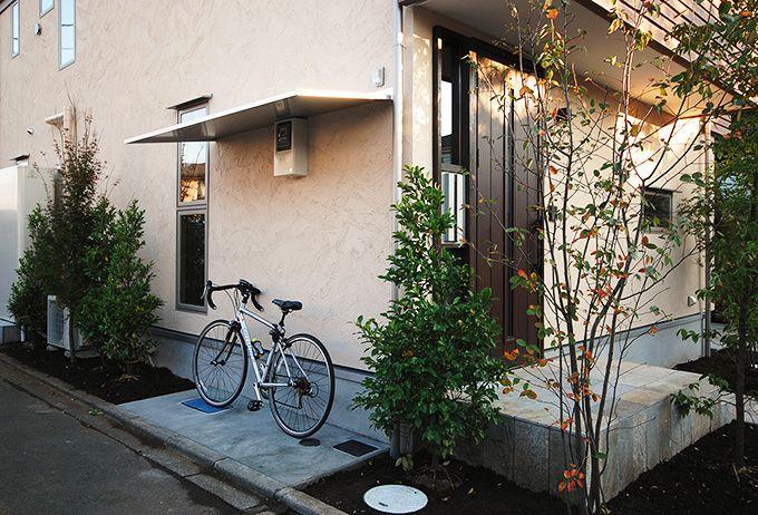 あなたの家に自転車を置くスペースはありますか 自転車 屋根