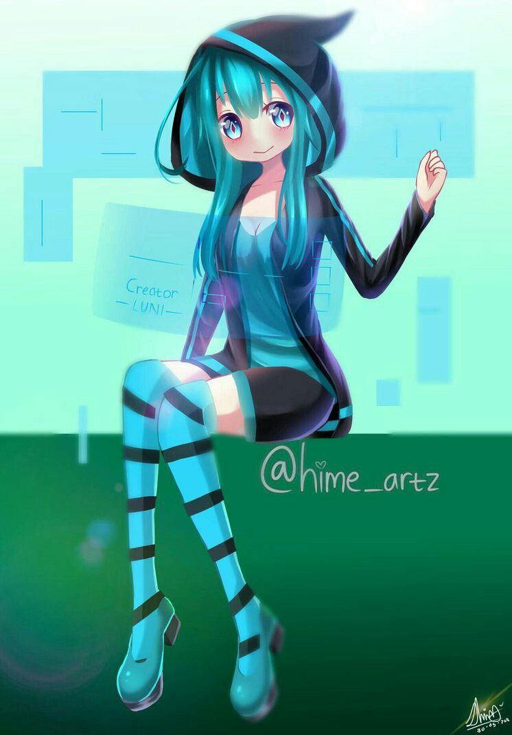 Luni anime version