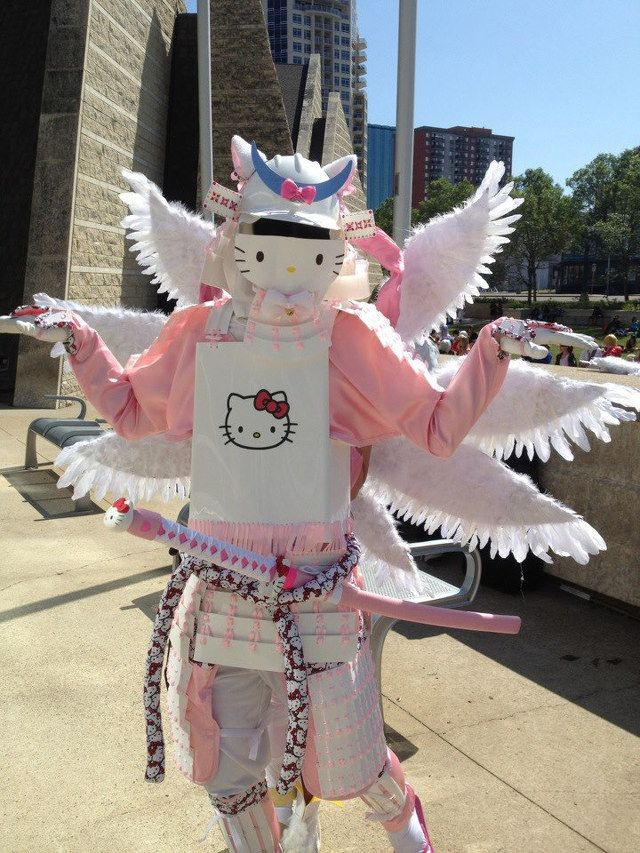 da73fddb0 hellokitty #sanrio #samurai costume! #cute and #crafty | Hello Kitty ...