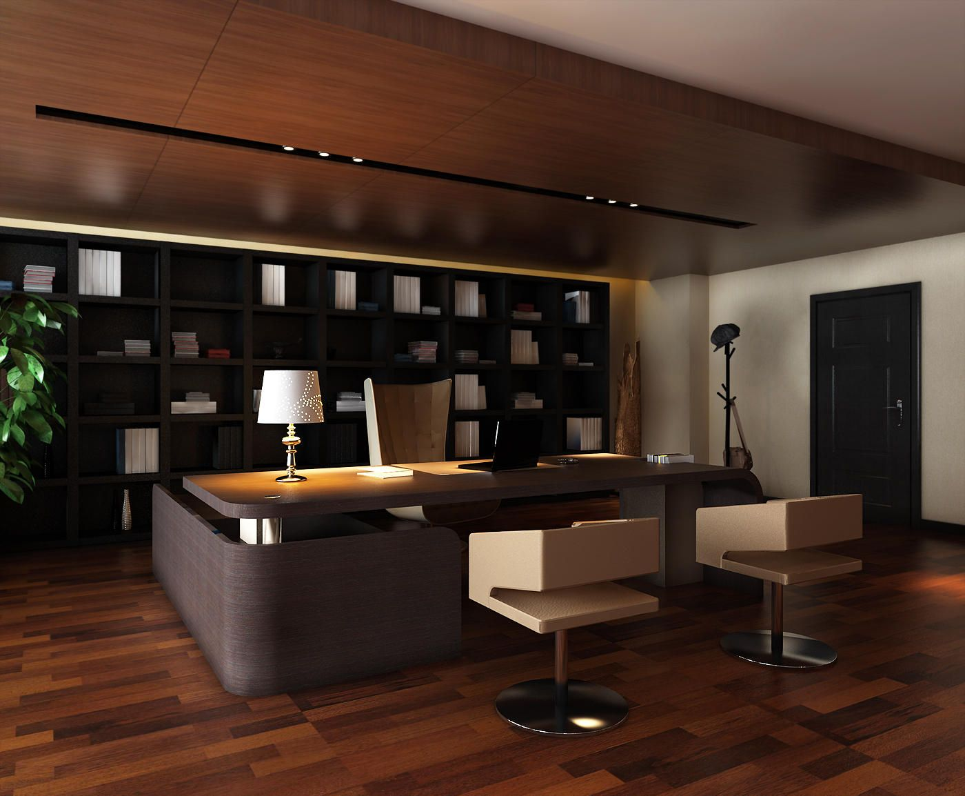 Alluring limitless executive office executive office for Modern office decor ideas