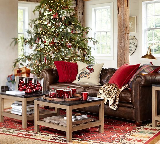 Swell Chesterfield Leather Sofa In 2019 Christmas Living Rooms Andrewgaddart Wooden Chair Designs For Living Room Andrewgaddartcom
