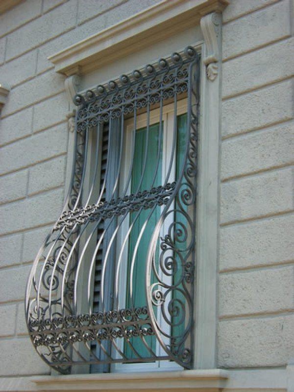 Wrought Iron Burglar Bars Window Security Bars Decorative Window Bars
