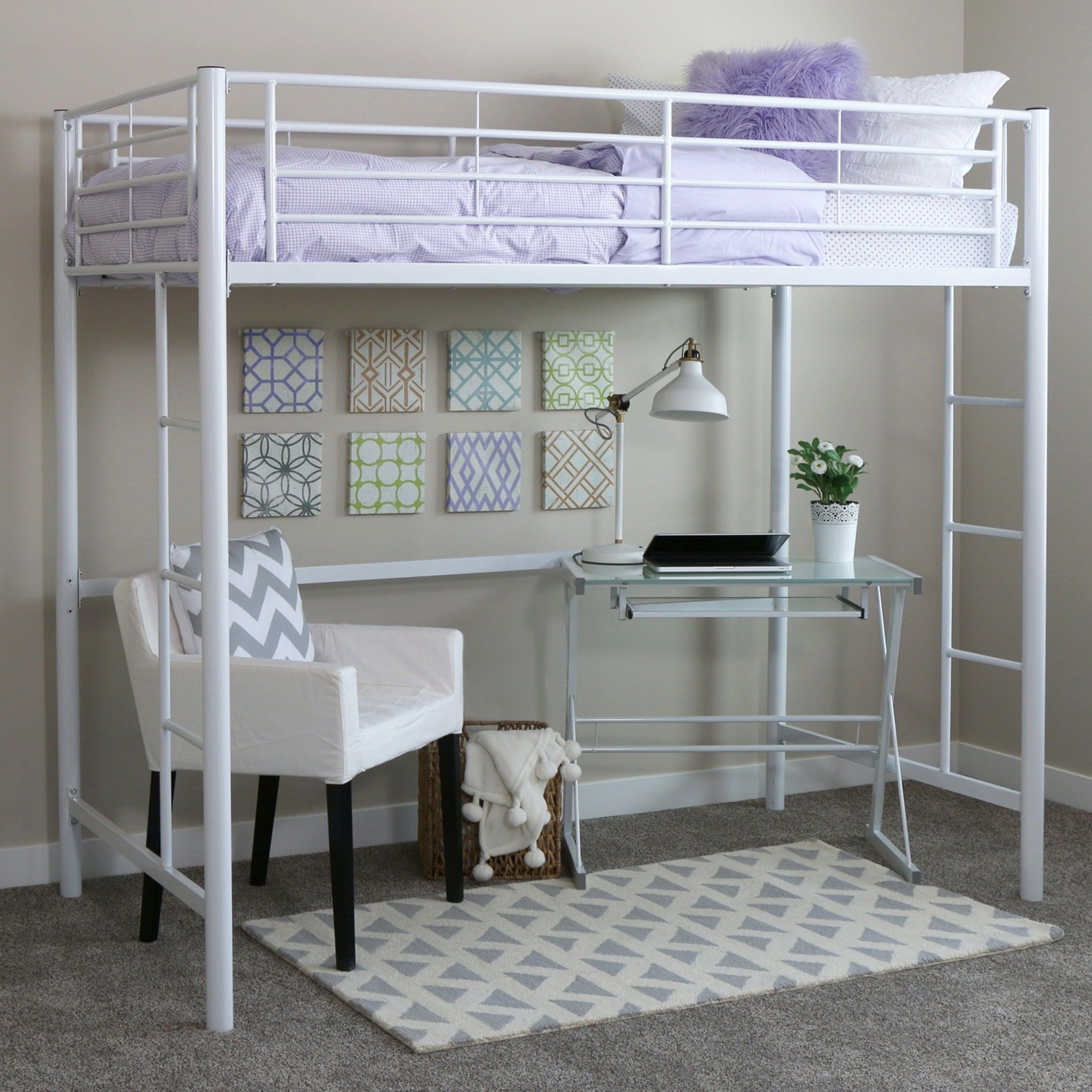 Loft over bedroom  Look no further than Overstock to shop Loft Bed with Free