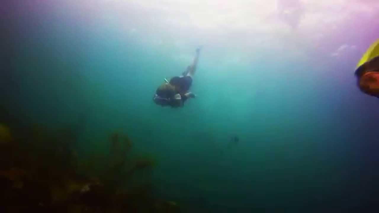 Sarah Dives Christ of the Abyss at Florida's John Pennekamp State Park