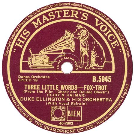 Hmv 78 Rpm Record Labels The 10 B Series 1912 Music From A Z