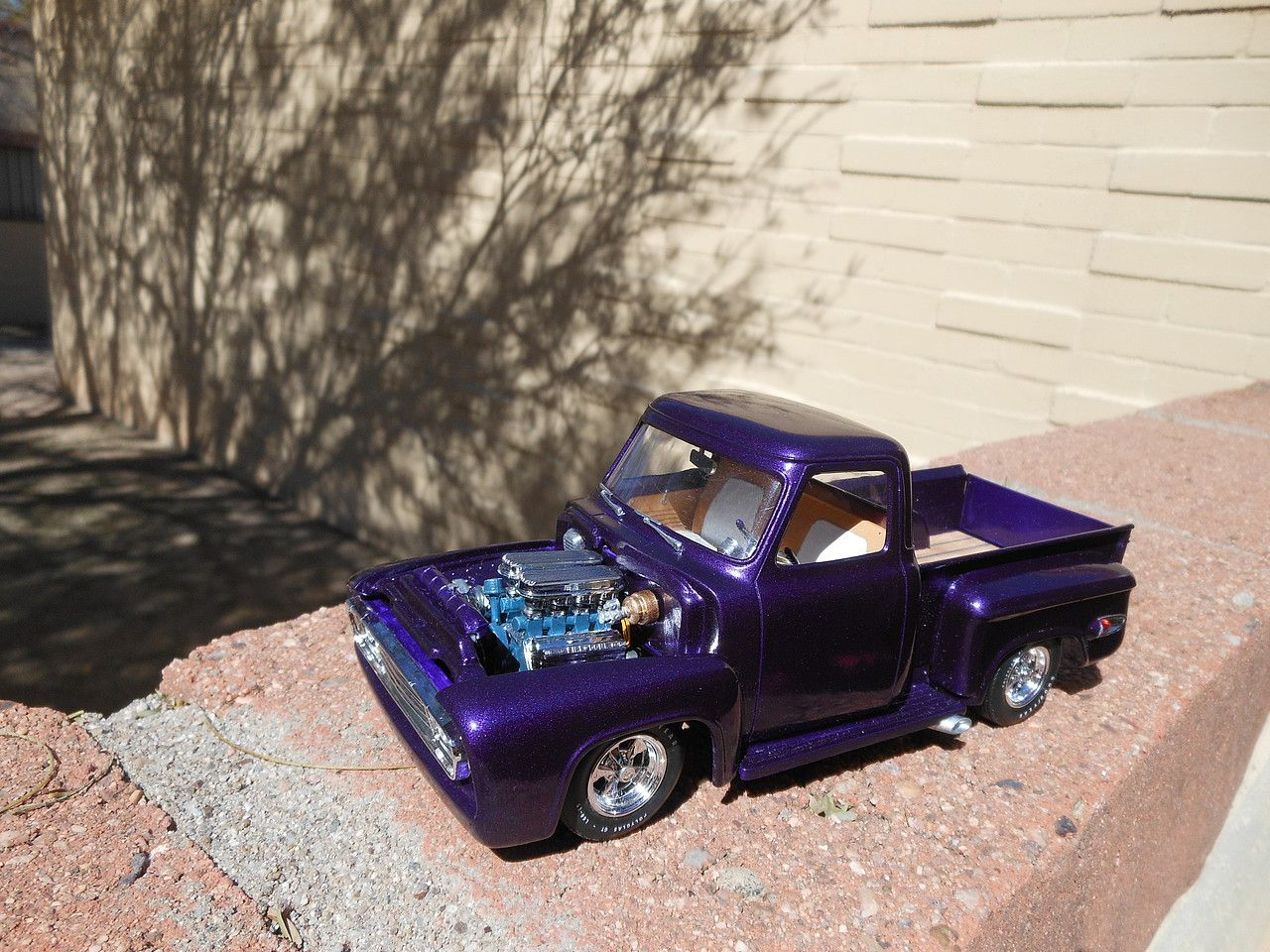 1953 Ford Pickup Truck In 1 25 Scale Veru Cool Plastic Model Kit
