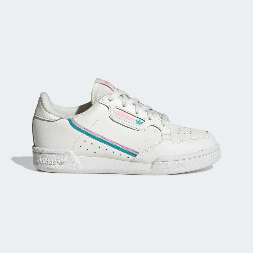 Continental 80 Shoes Off White / True Pink / Hi-Res Aqua ...