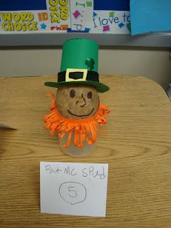 Creative Writing Using Potatoes, Yes Potatoes!