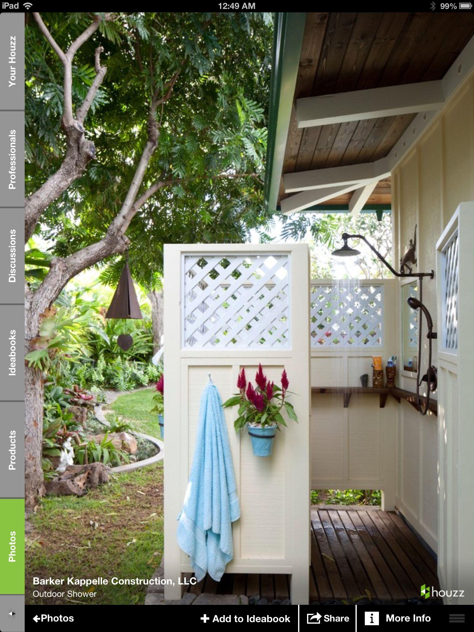 outdoor shower goa home inspiration pinterest backyard