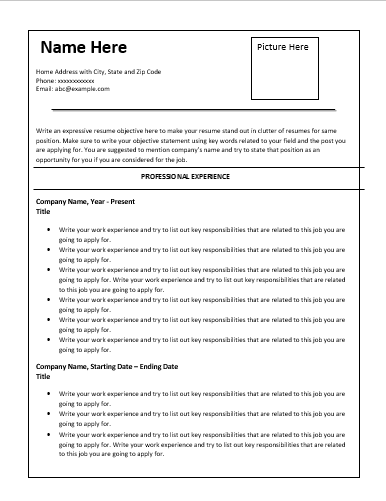 SalesResumeTemplate  Resume Templates    Template