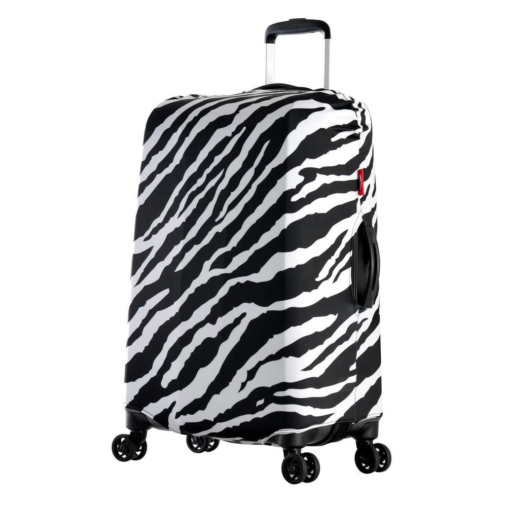 INSTANTARTS Stylish Graffiti Womens Casual Travel Luggage Cover for 22-26 inch Luggage