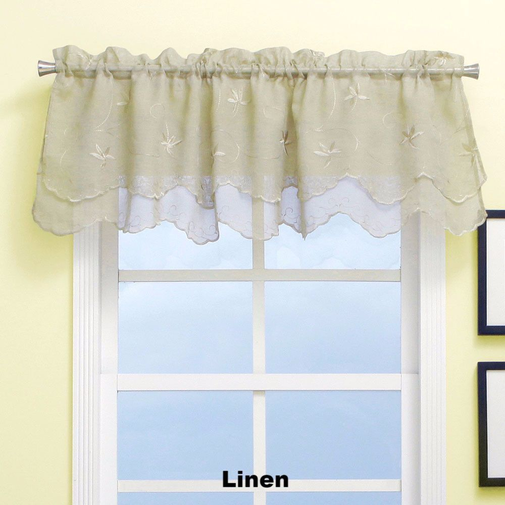 Zurich Scalloped Valance Valance House Styles Decor