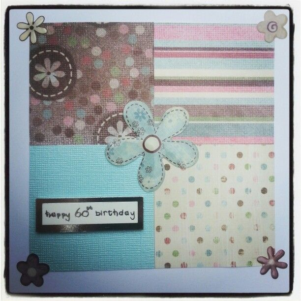 A dabble in card making.