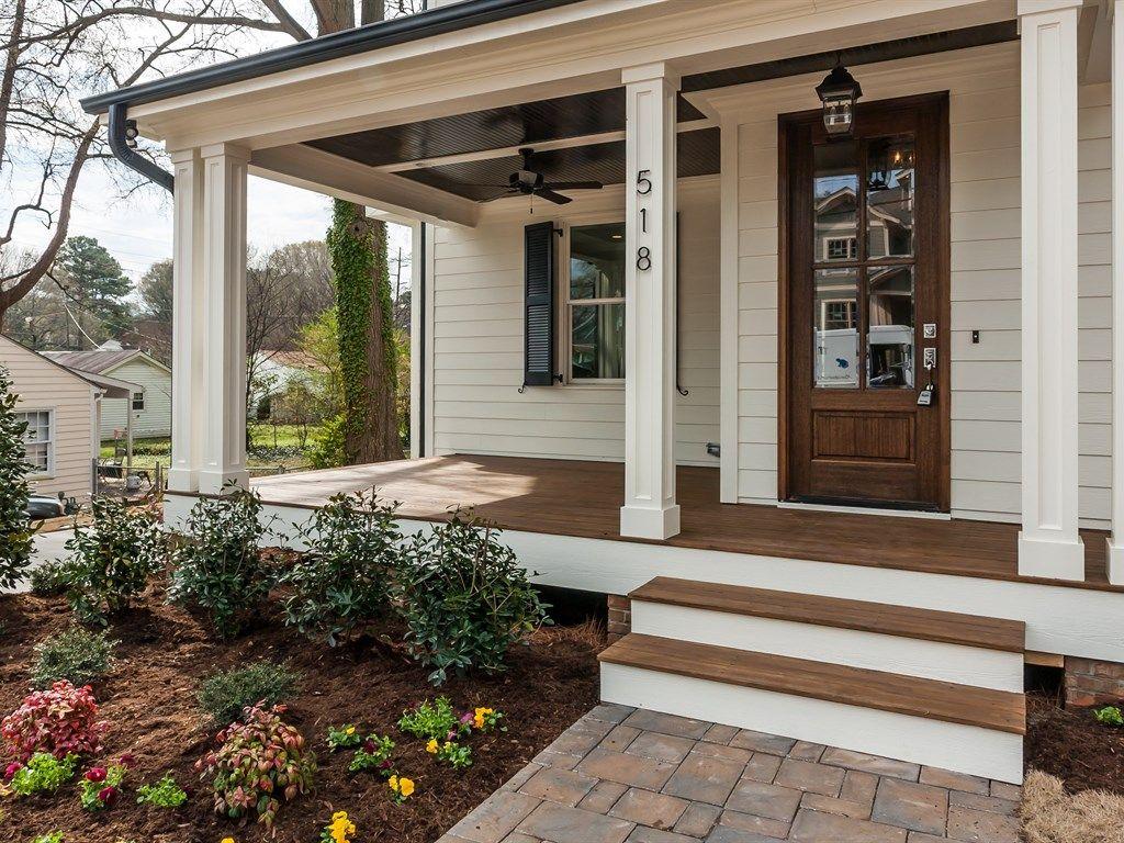 Exterior farmhouse paint colors google search exterior for Landscape design around farmhouse front porch