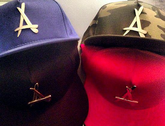 tha alumni x dope couture 24k gold snapback cap snapback caps