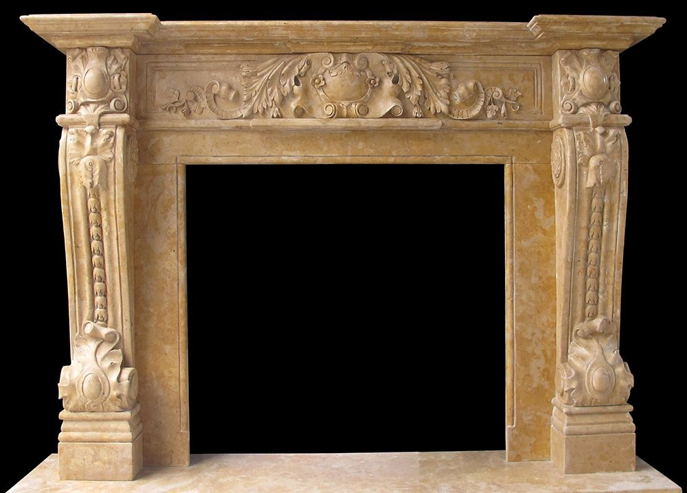Marble fireplaces mantel gallery limestone italian for Marble for fireplace surround