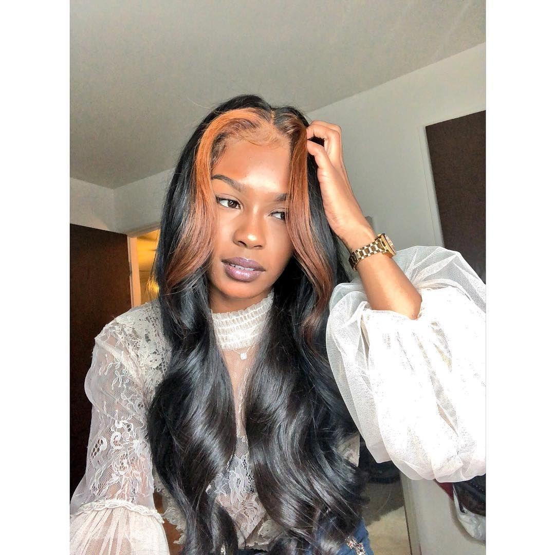 Hairgodextensions Com On Instagram Brown Skin Hair Styles Womens Hairstyles Girl Hairstyles