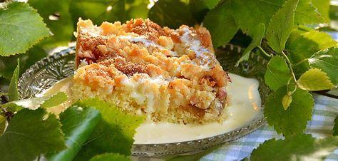 Tällä taikinalla on tehty onnistuneita piirakoita monista eri hedelmistä ja marjoista. Esimerkiksi raparperipiirakka onnistuu tällä reseptillä kuin mummolassa konsanaan.