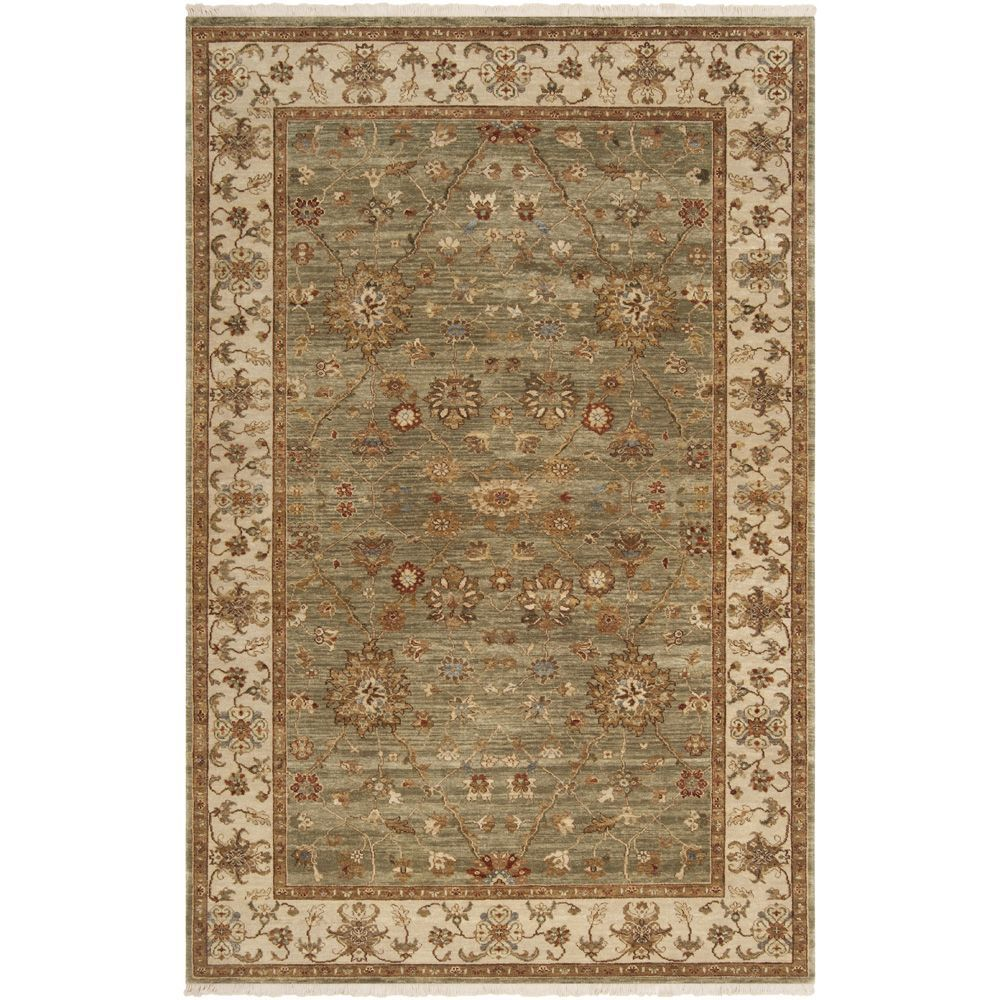 Hand Knotted Misset2 Asparagus Green New Zealand Wool Area Rug 9 X 13 Ping The Best Deals On 7x9 10x14 Rugs