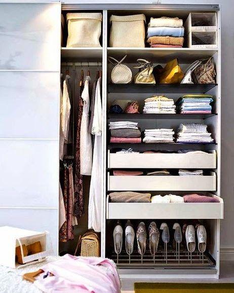10 ideas para sacar partido a tu armario decorar tu casa for Organizar armarios empotrados