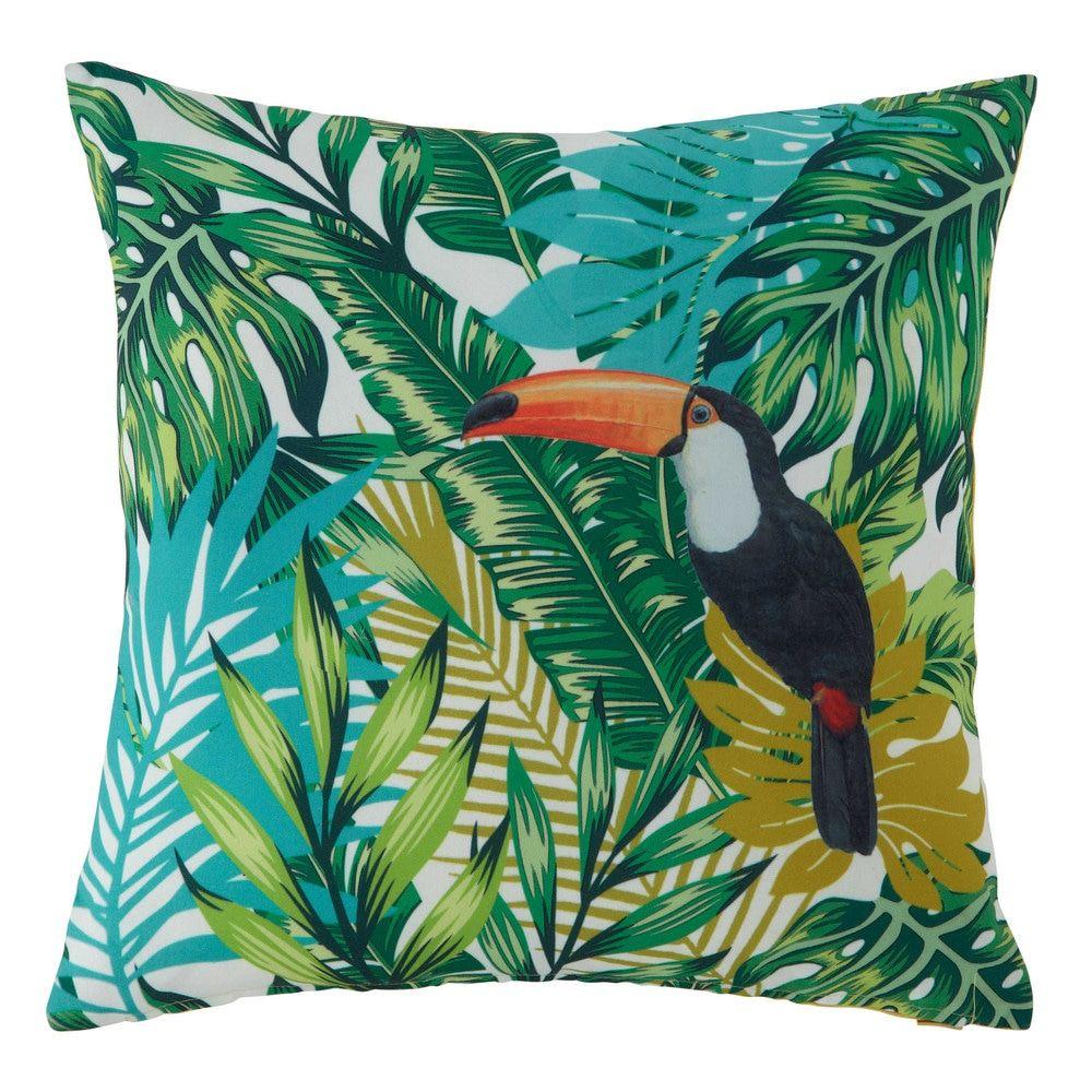 Outdoor Kissen Mit Pflanzendruck 45x45 Tropical Decorating