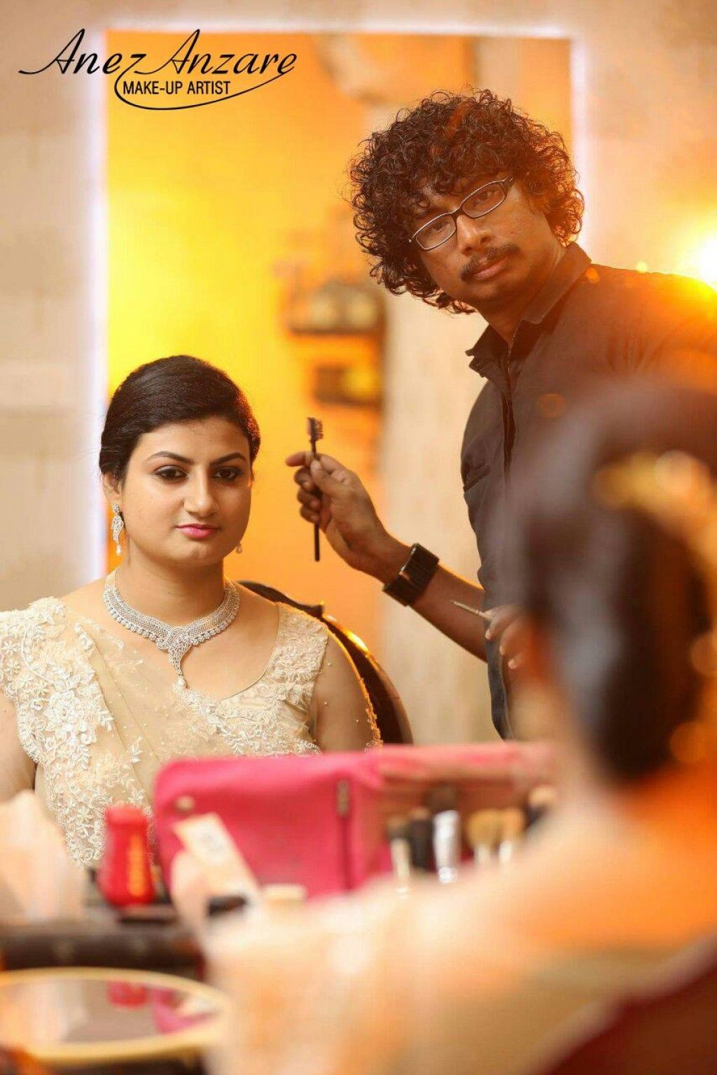 Anez Anzare, Bridal Makeup in Kochi Bridal makeup