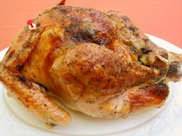 Mouthwatering Herb Roasted Turkey - what's Thanksgiving without turkey.