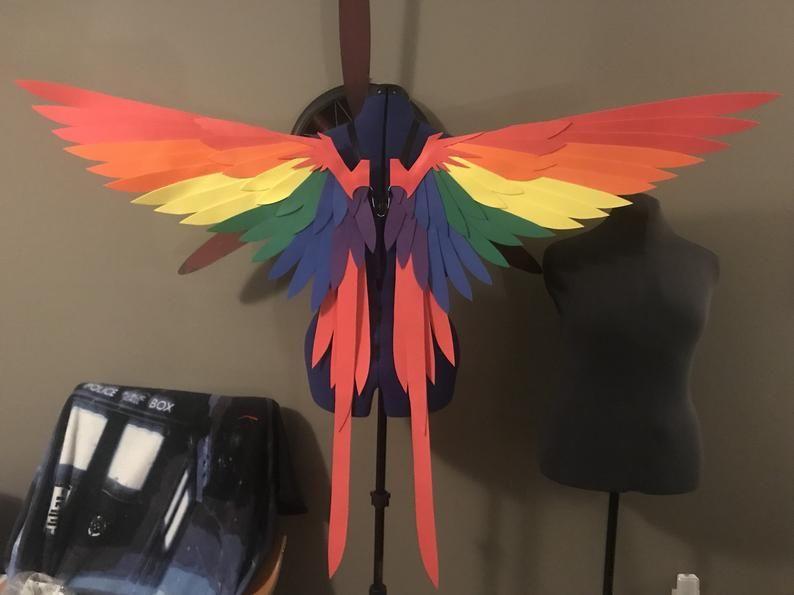 Realistic Humming Bird Cosplay Wings