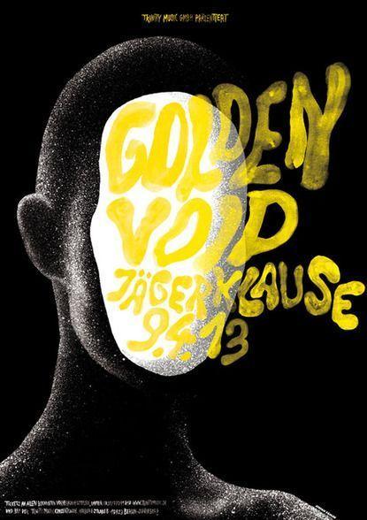 Golden Void Poster