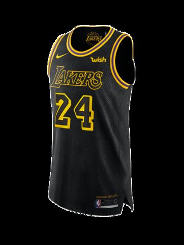 Los Angeles Lakers Kobe Bryant 24 City Edition Authentic Jersey Los Angeles Lakers Kobe Bryant 24 Lakers Kobe Bryant
