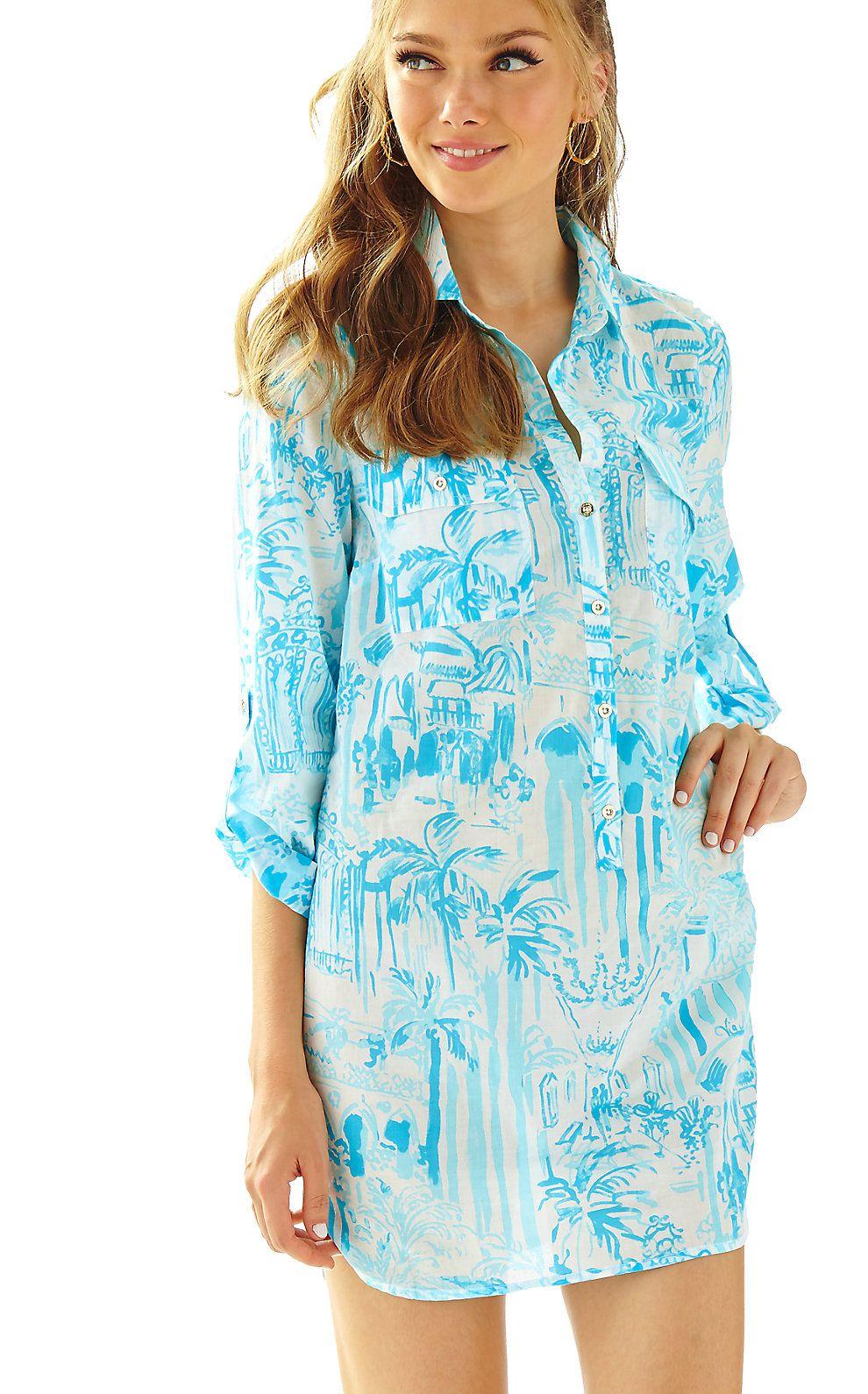 132b7e9ec1e Captiva Tunic Cover-Up Lily Pulitzer, Stretch Dress, Clothes, Dresses,  Fashion