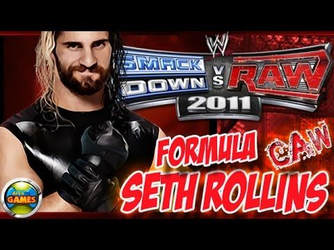 How to Create Seth Rollins WWE SvR 2011 CAWs | WWE Smackdown