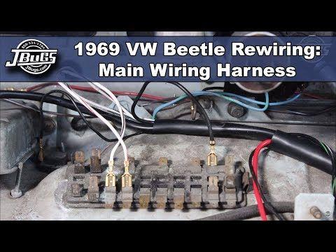 VW Wiring Harnesses for VW Bug, Super Beetle, Karmann Ghia ...