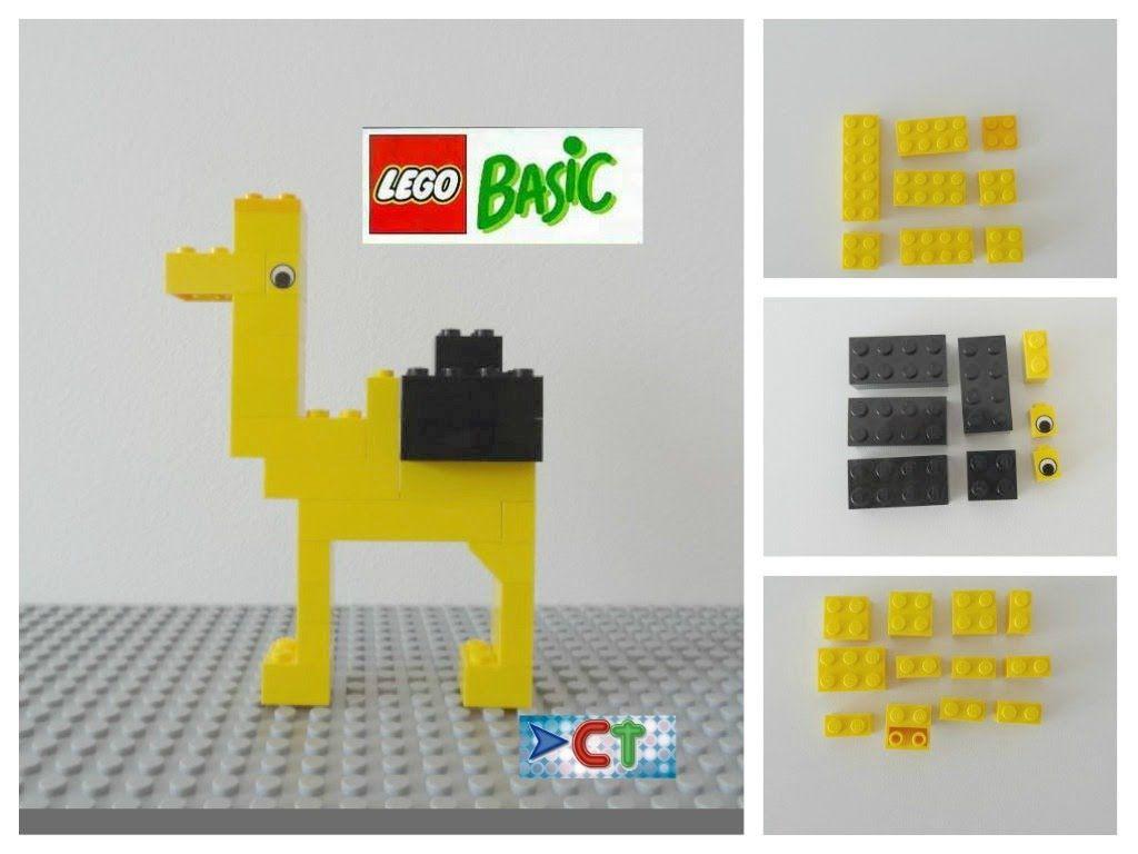 Lego Easy Tutorial How To Build Camel Animals Lego Basic Instruction