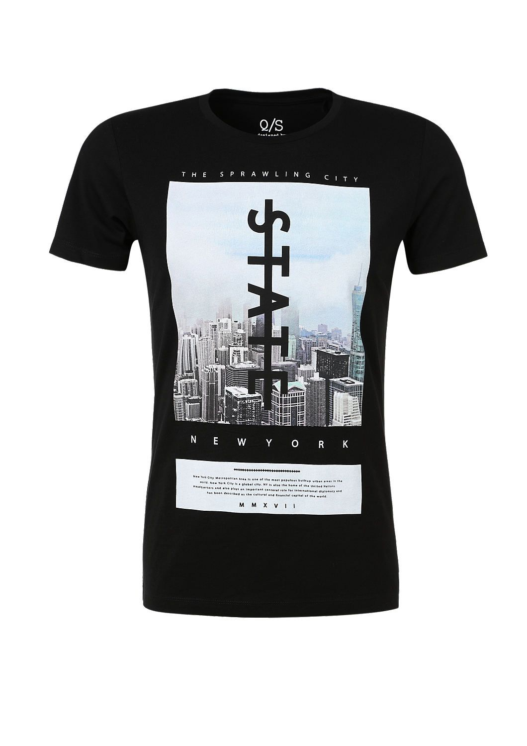 T Shirt With A New York Print From S Oliver Discover The Latest Fashions Online For Women Men A Shirt Print Design Shirt Design Inspiration Tee Shirt Designs