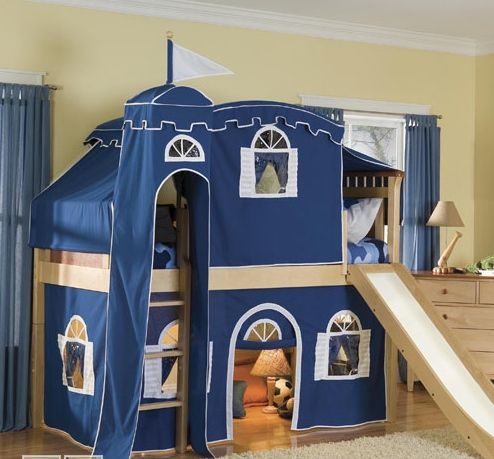 11 Coolest Playhouse Beds For Kids Castle Bed Playhouse Bed And