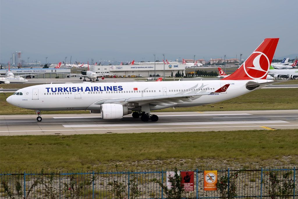 Turkish Airlines Fleet Airbus A330200 Details and Pictures