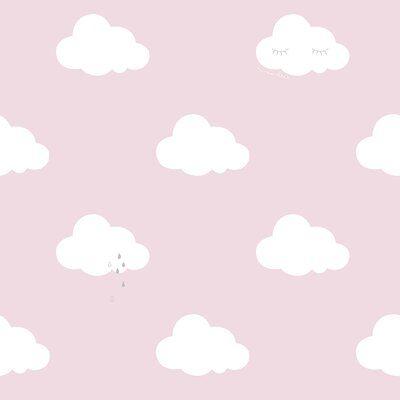 Galerie Wallcoverings Sleepy Clouds 32.97' L x 1.74