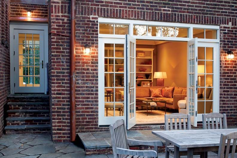 A Garage Turned Family Room Garage Renovation Garage To Living Space Garage Conversion