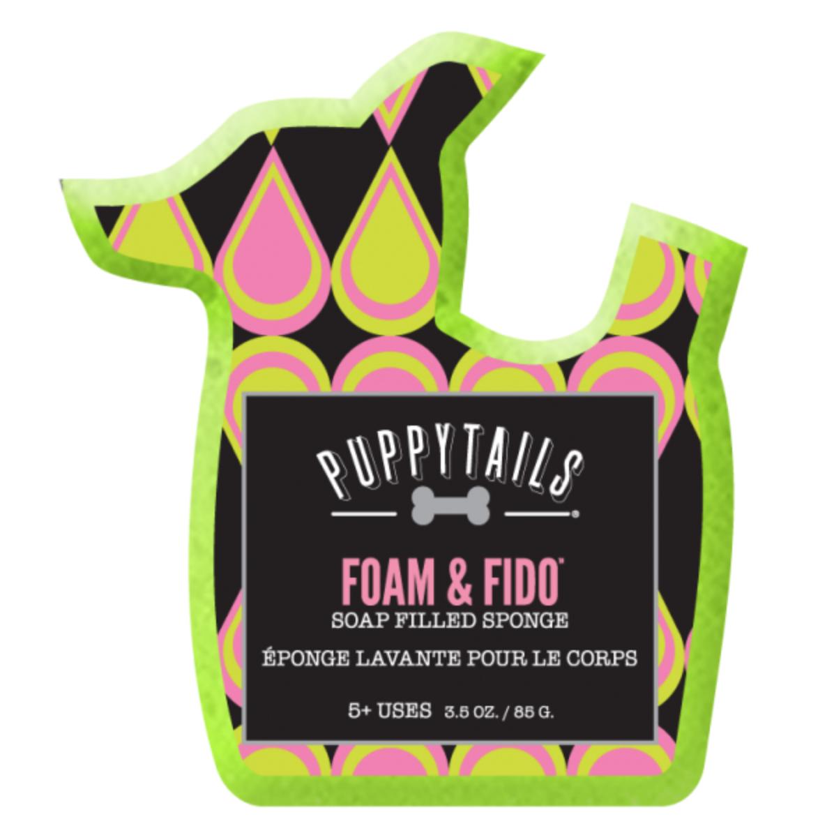 Puppytails Foam & Fido Soap Infused Sponge Soap, Sponge