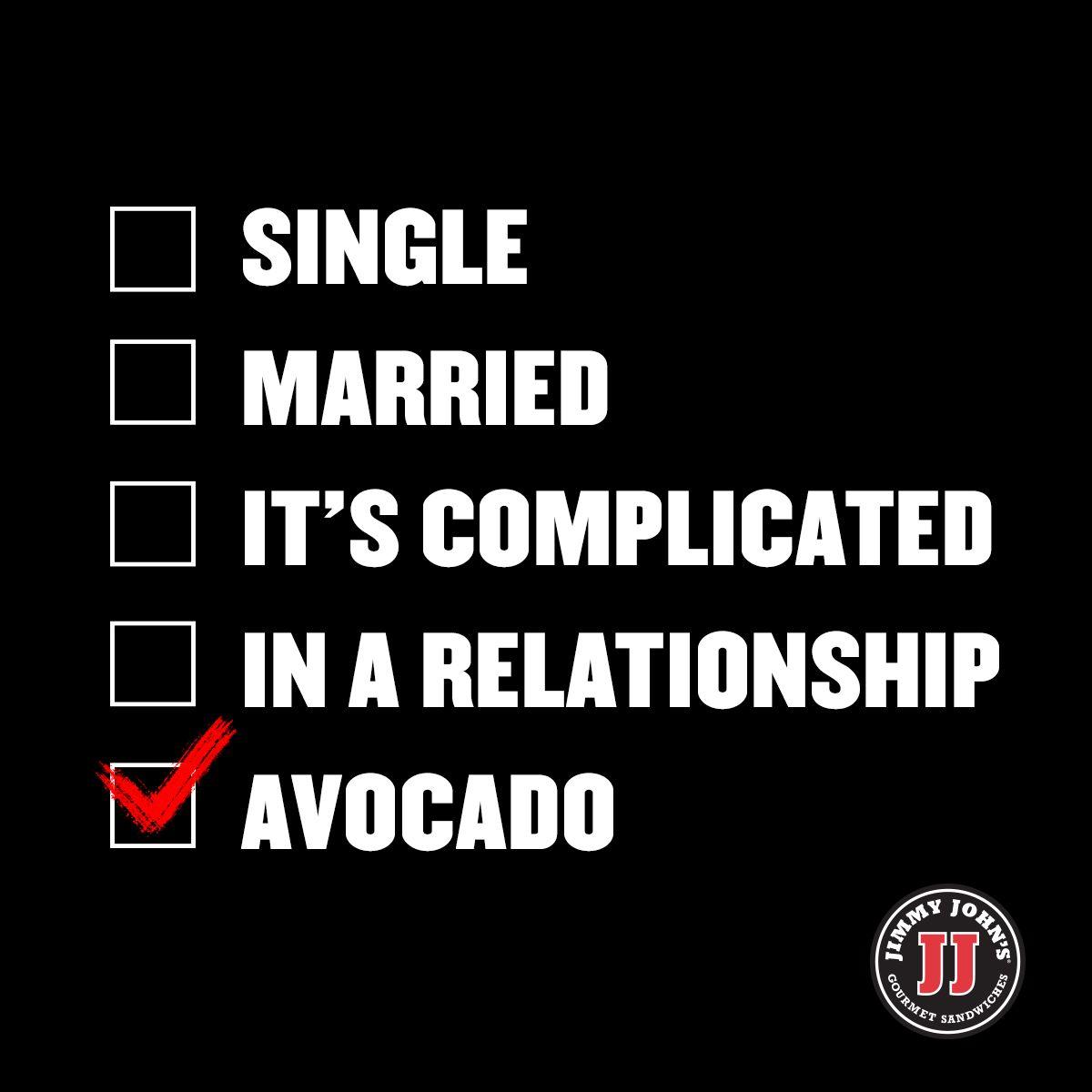 Relationship Status Avocado Relationship Status Single Life Humor Quirky Quotes