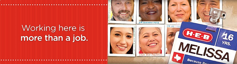 Careers with HEB check out their website https//www.heb