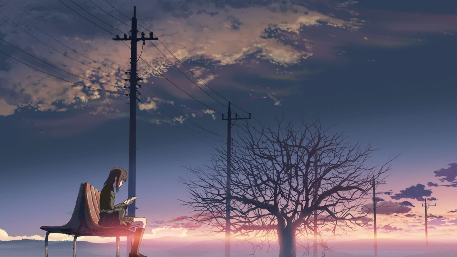 Shot from 5 Centimeters Per Second