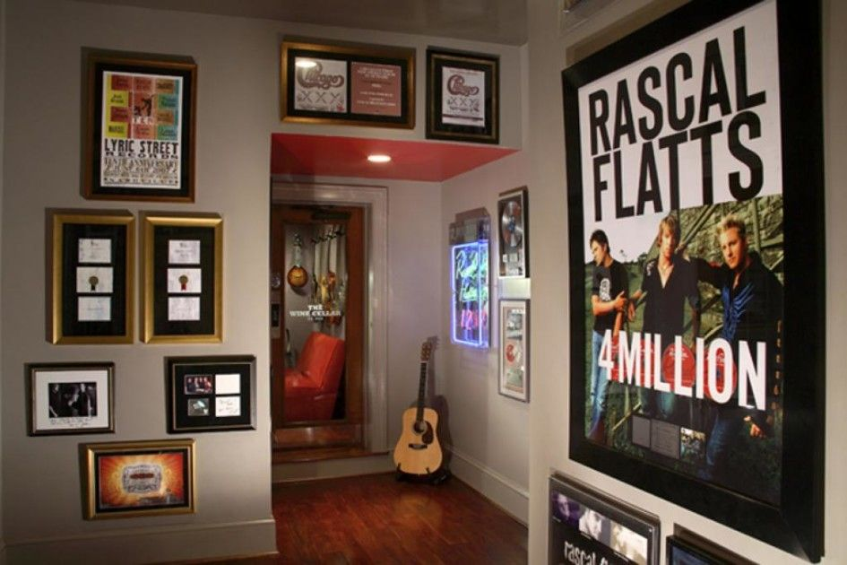 Home Music Studio Wall Decoration With Art Framed Poster Artists ...